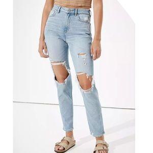 AEO Hi Rise Mom Jeans